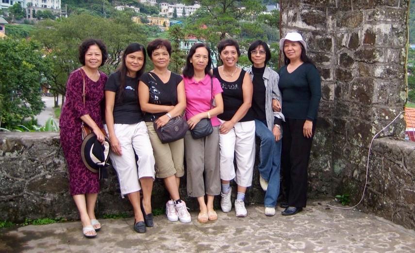 Chi Chinh va cac ban Tam Dao 2007