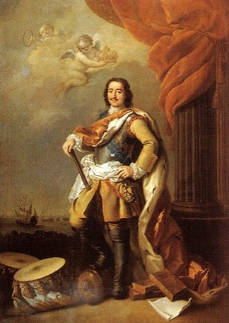 Pie Đại Đế Pyotr I (1672 -1725)