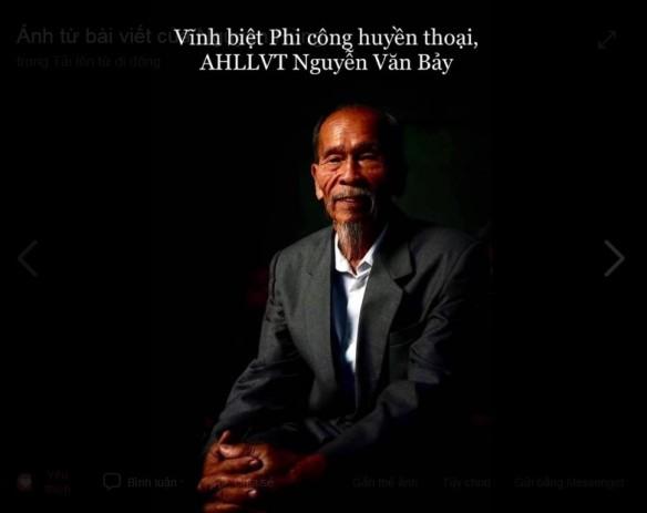 Bay lên AHLLVT Nguyễn Văn Bảy